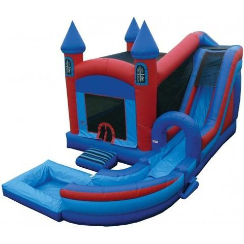 Jump and Splash Castle with Pool